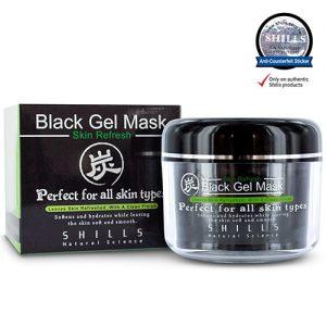 black mask gel