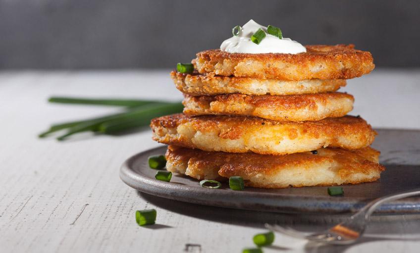 curcuma in cucina ricette pancake di patate e curcuma