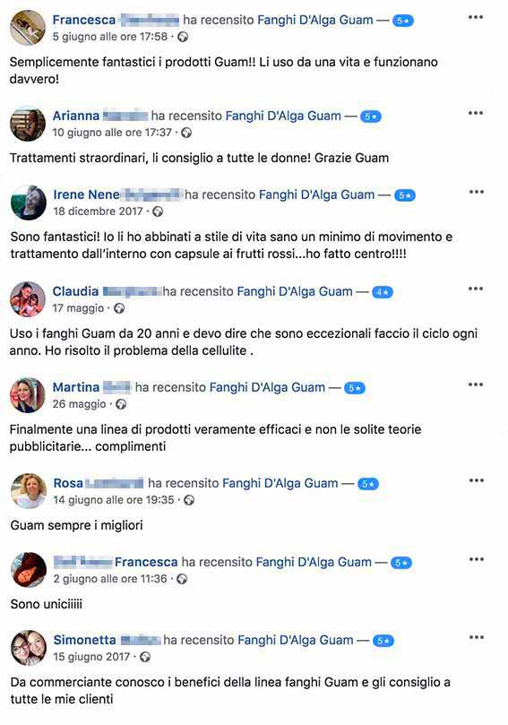 cellulite fanghi alga guam anticellulite recensioni facebook 1