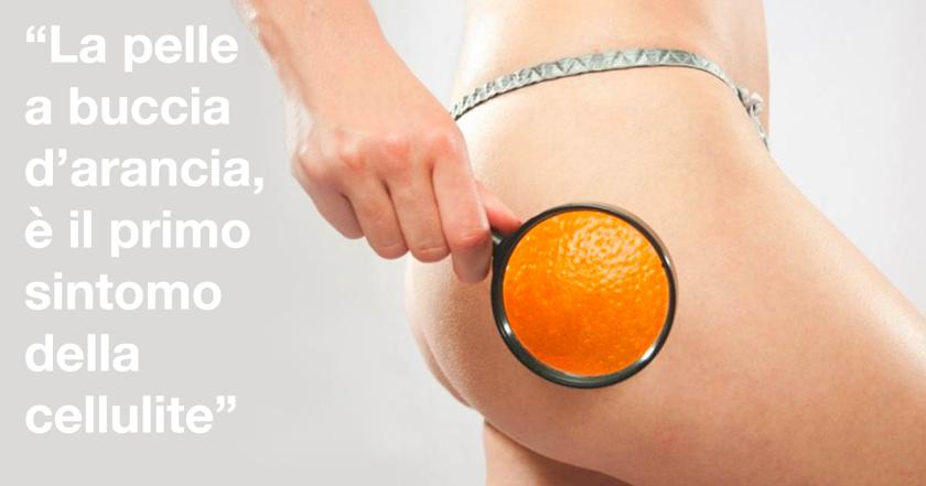 cellulite sintomi pelle buccia arancia